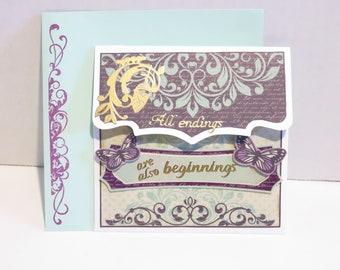 Encouragement/Retirement/Sympathy card