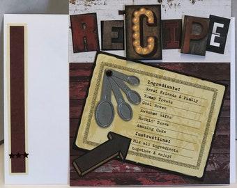 Recipe Birthday Card