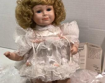 Christen Porcelain Moments Treasured Doll