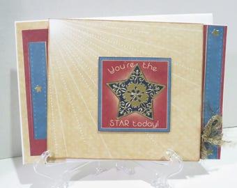 Birthday Card/Shining star