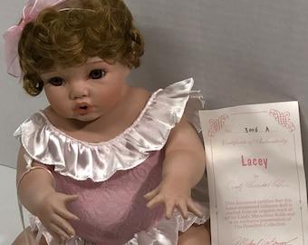 Lacey Vintage Porcelain Doll