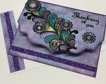 Thinking of You/Get Well/Friendship/Sympathy card