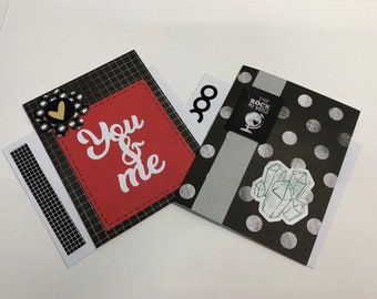 Black and White Love Cards