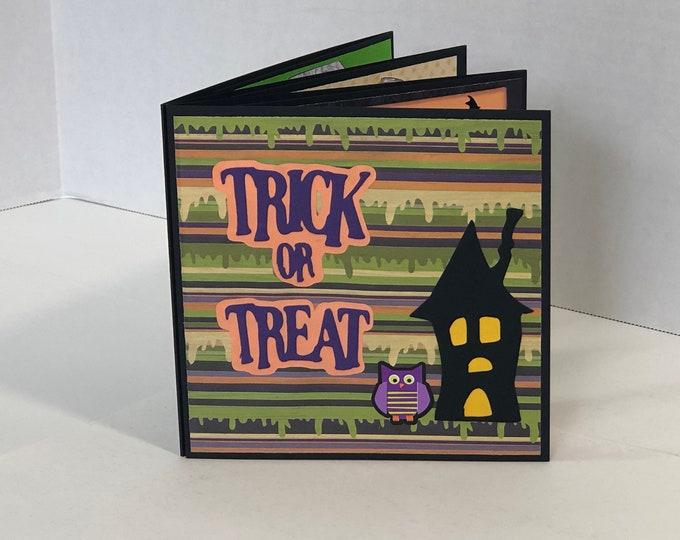 Featured listing image: Halloween Mini Album Keepsake Decoration