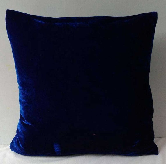 Navy velvet pillows | Etsy