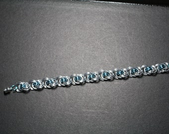 Ocean Waves Chain Maille Bracelet