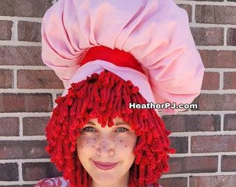 Strawberry Pink Bonnet
