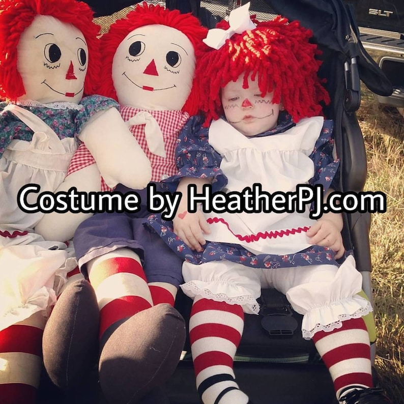 12month costume size ready to ship same day Any Size Wig or image 0