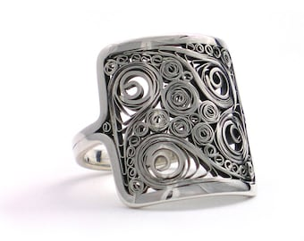 Ring - Size 10 - Sterling Silver - One of a kind