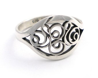 Ring -  Size 9 - Sterling Silver