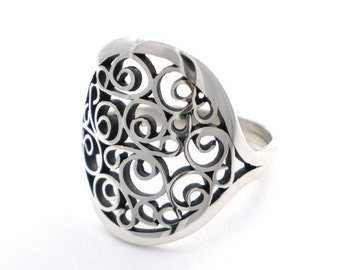 Ring - Size 6.5 - Sterling Silver - Limited edition