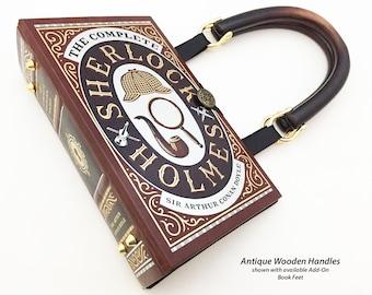 Sherlock Holmes Book Purse Sherlock 221b Baker Street Etsy