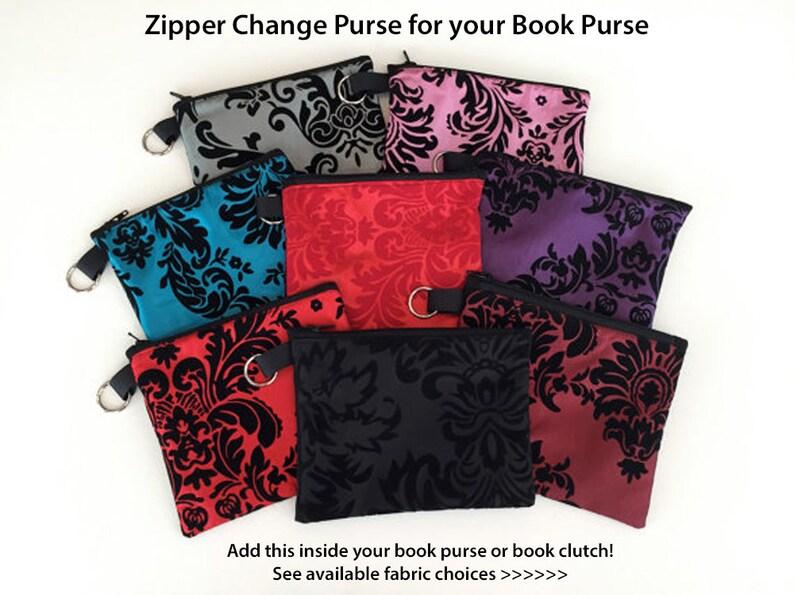 Zipper Purse  Sugar Skulls Zipper Coin Purse  Sherlock image 0