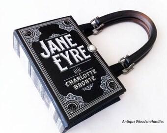 Jane Eyre Book Purse - Jane Eyre Book Clutch - Pocket Book Handbag - Charlotte Bronte Collector Gift - Prom Pocketbook - Bronte Gift