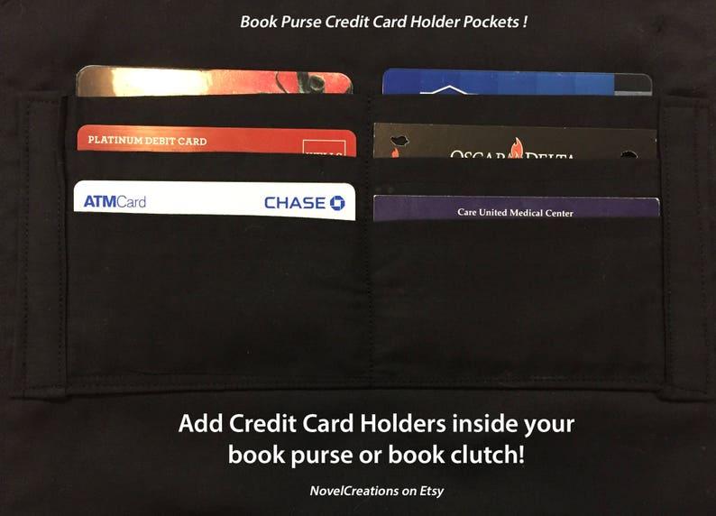 Book Purse Credit Card Holders  Book Clutch Credit Card image 0