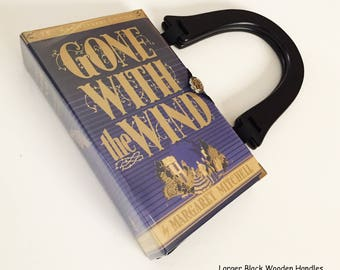 Gone With The Wind Book Purse Handbag - Gone With The Wind Collector Gift - Scarlett O Hara Costume Purse - Southern Belle HandBag