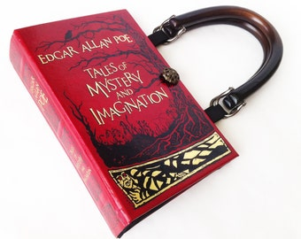 Tales of Mystery and Imagination from Edgar Allan Poe Book Purse - The Raven Book Purse