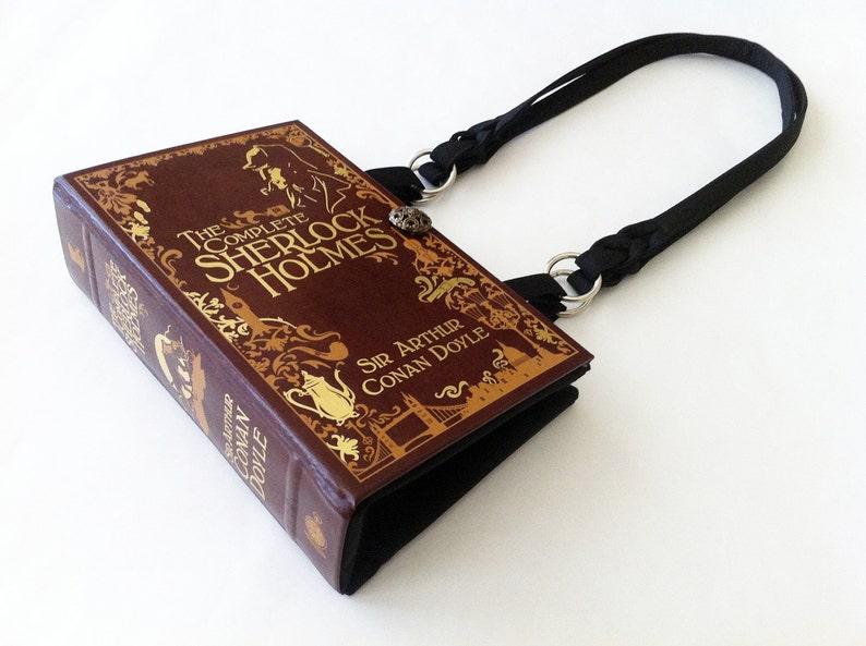 Sherlock Holmes Book Purse  Sherlock 221B Baker Street image 0