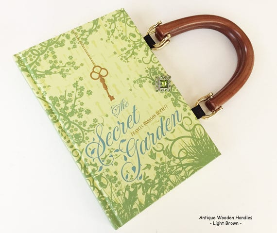 Secret Garden Recycled Book Purse NovelCreations Secret | Etsy