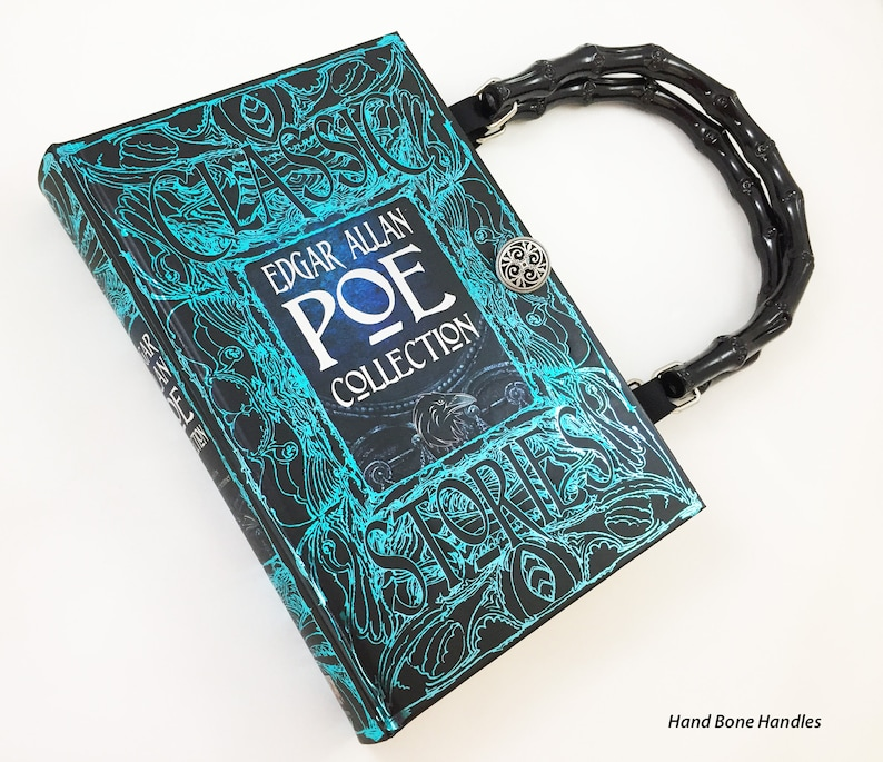ee15f3f4bc70 Edgar Allan Poe Book Purse - Poe Book Clutch - Horror Gift - Poe Collector  Gift ... Edgar Allan Poe Book Purse - Poe Book Clutch - Horror Gift - Poe  ...