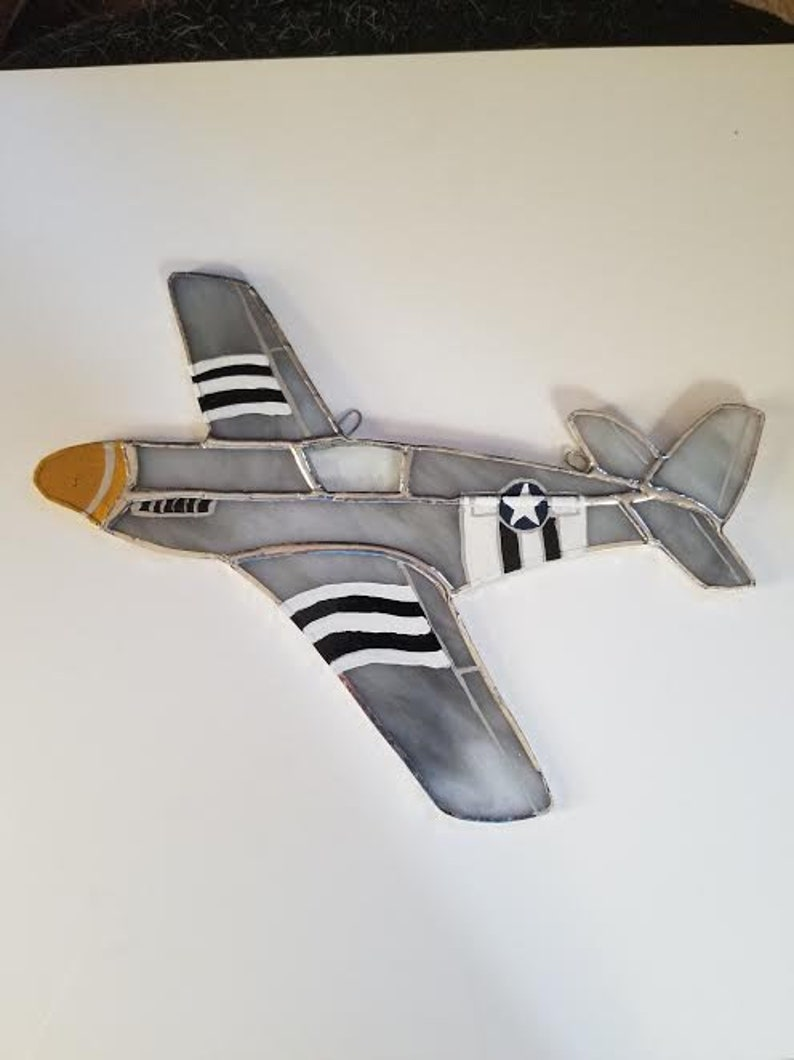 P=51 Mustang plane from WW2