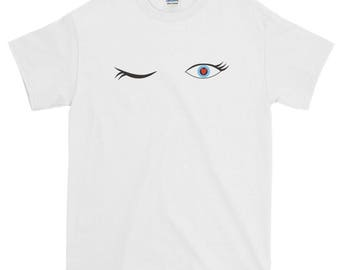 Flirting Eyes   Short-Sleeve T-Shirt
