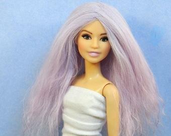 """Doll Wig 10""""-11"""" ex-long fantasy wig"""
