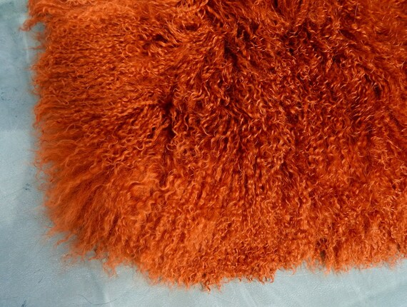 "Black Tibetan Lamb Mohair for Doll Wigs 4x4/"" Mongolian Curly Fur Hair"