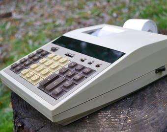 Vintage 1970s Sears Electronic Adding Machine