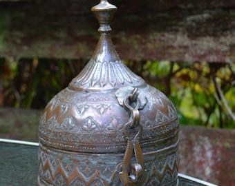 Antique Indo-Islamic Betel Nut Box