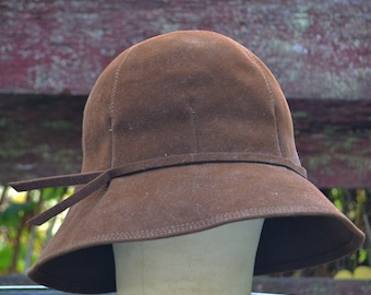 Brown Felted Hat