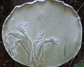 Handmade Ceramic Sea Anemone Wall Hanging