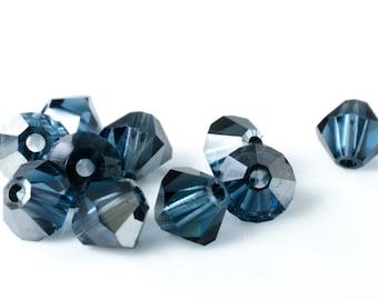 Montana Satin Bicone Crystal Beads