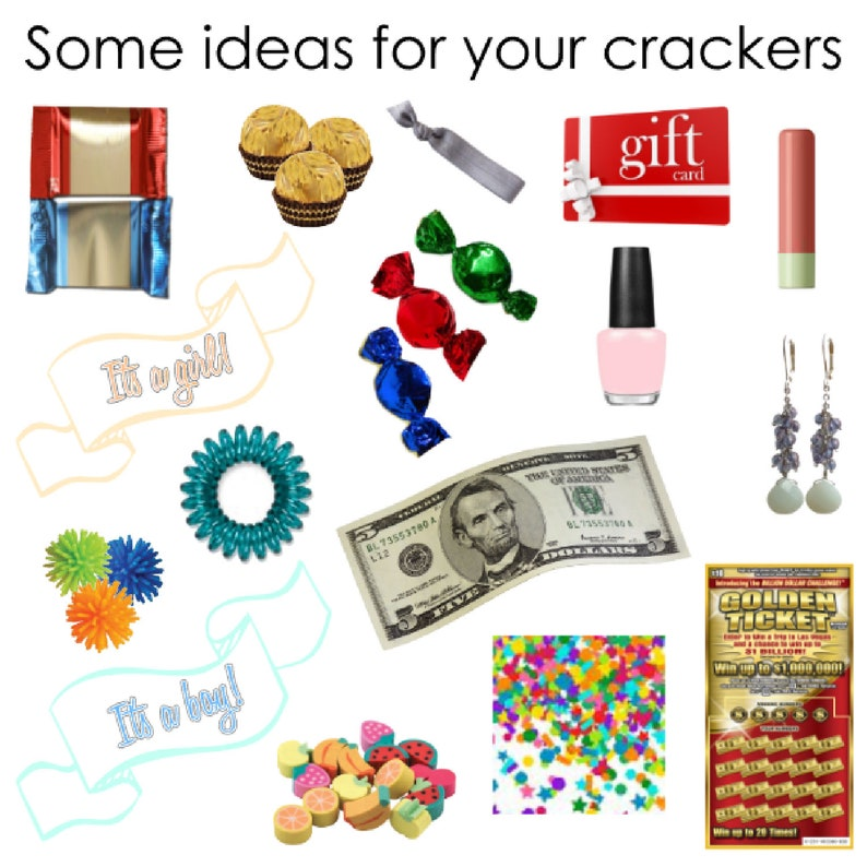 Party Cracker Fill Your Own Gift Favor Party Popper w Paper Rosette or Star Sequin Embellishment Table Decoration by Paperbella Paper Bow