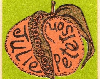 Rubber Stamp Hang Tags, Small Logos and Motifs one of a kind, custom. Individually designed fun and personal,  business