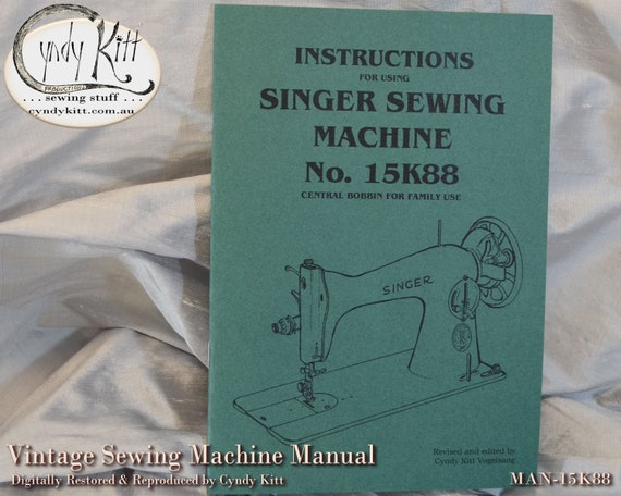 Singer 66 99 185 Sewing Machines Timing /& Adjusting Instructions Reproduction