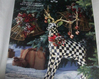 MacKenzie Childs November 2017 Magazine Catalog Book~Brand New! obo