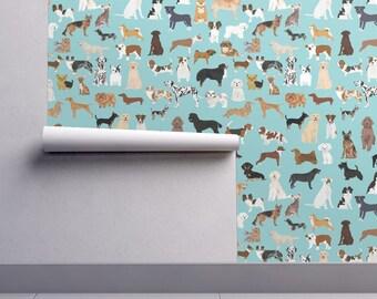 Dog Wallpaper Etsy