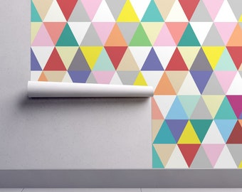 Geometric Wallpaper Etsy