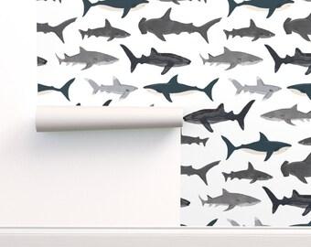Kids Bag Hammerhead Shark Personalised Backpack Rucksack Add Name Boys Sea Ocean