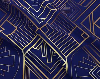 Art Deco Fabric Etsy