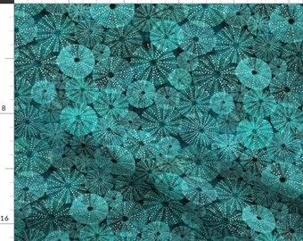 Botanical Throw Blanket with Spoonflower Fabric Summer Garden On Navy  by lavish/_season Floral Garden Throw Blanket
