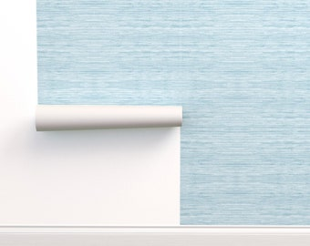 Removable Wallpaper Blue Etsy