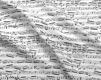 Music Fabric Etsy