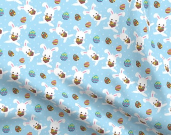 "Pastel Bunnies Rabbits Hearts Baby Novelty 100/% Cotton Fabric Craft 60/"" Sewing"