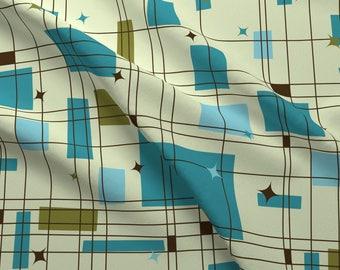 Mid Century Fabric Etsy
