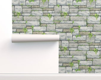 Stone Wallpaper Etsy