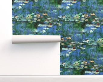 Monet Wallpaper Etsy