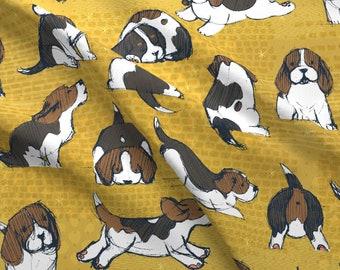 9ee08d43cc33 Beagle fabric | Etsy