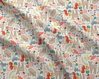e812c061db97 Flora and fauna fabric